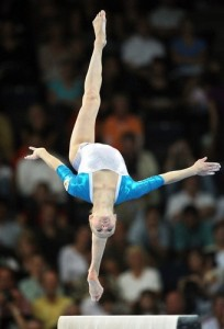 Yulia Lozhecko at last year's World Championships